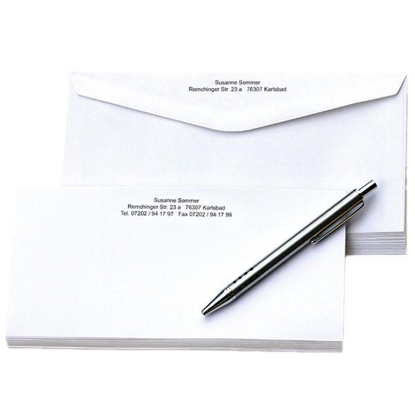 Briefkarten-Set 100 Karten und 100 Umschläge