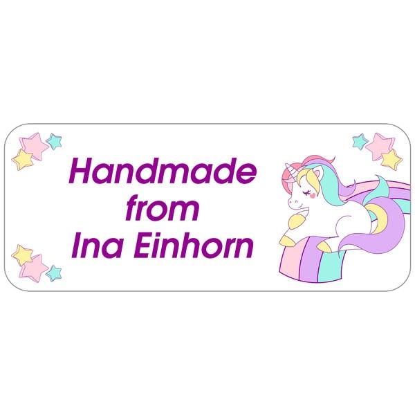 Kinder-Aufkleber Unicorn 160 Stück