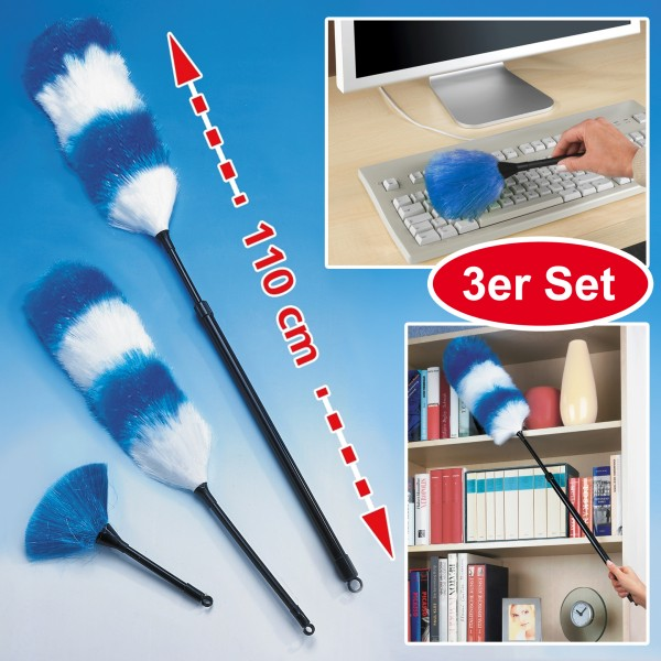 Staubwedel Static, 3er Set
