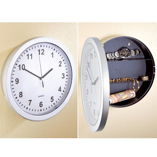 Uhren-Safe, ca. 24,9 cm Durchmesser