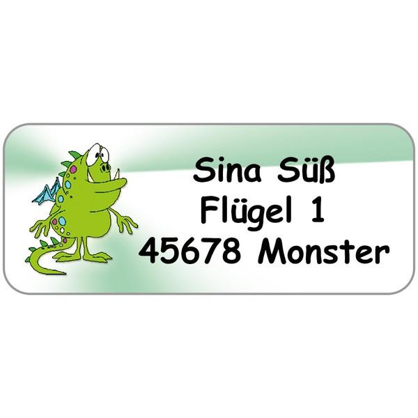 Adress-Etiketten Draco 160 Stück