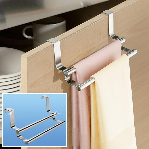 Tür-Handtuch-Doppelstange