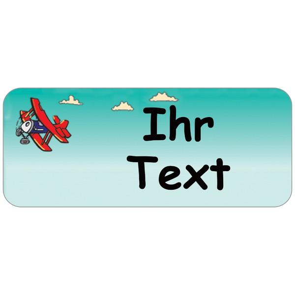 Adress-Etiketten Roter Flieger 160 Stück