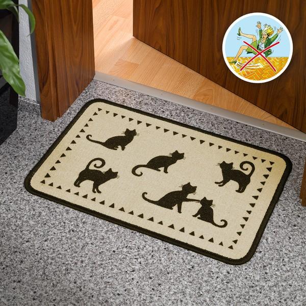 Fußmatte Katze 40x60 cm