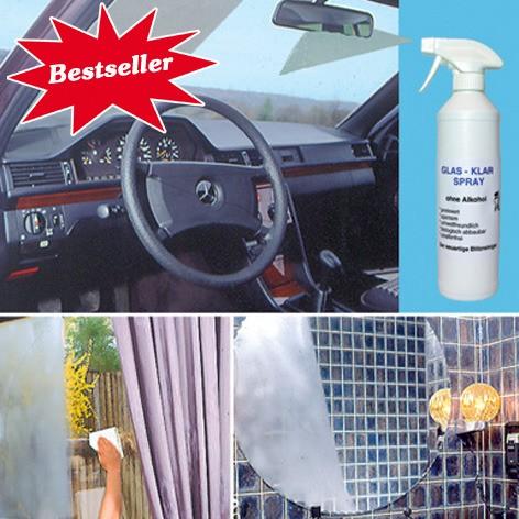GlasKlar-Spray in Sprühflasche 500 ml