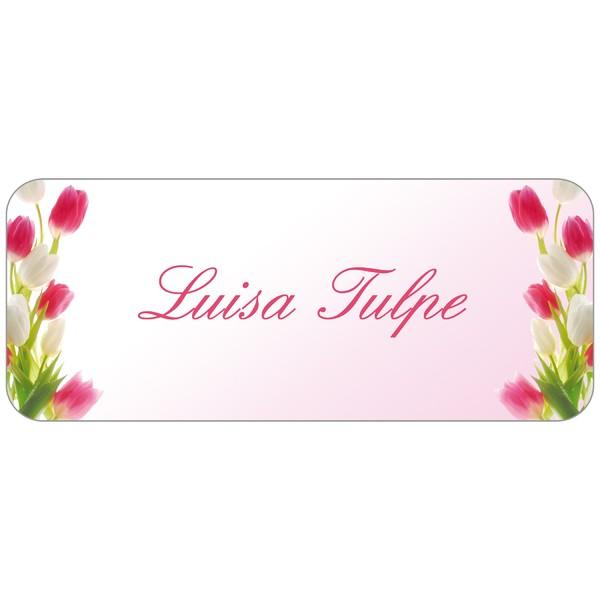 Adress-Etiketten Tulpenblüte 160 Stück