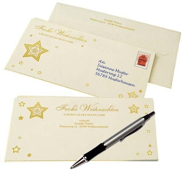 """Briefkarten """"Weihnacht"""", 48-teiliges Set"""