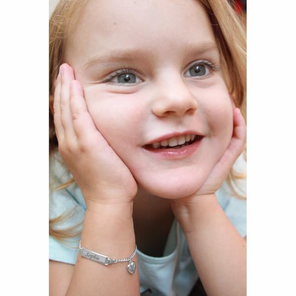 Kinder-Armband mit Namensgravur